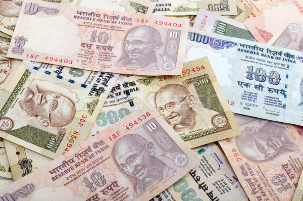 Indian Currency Stock photo © szefei