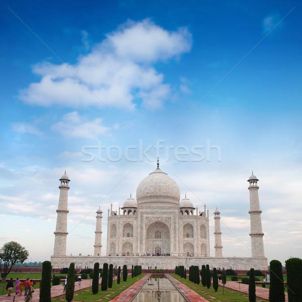 Тадж-Махал Индия мнение Blue Sky Сток-фото © szefei