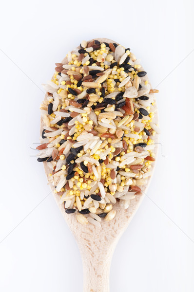 Multi Raw grains Stock photo © szefei
