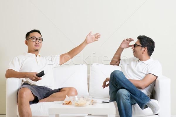 Stok fotoğraf: Erkek · arkadaşlar · erkekler · iki · arkadaş