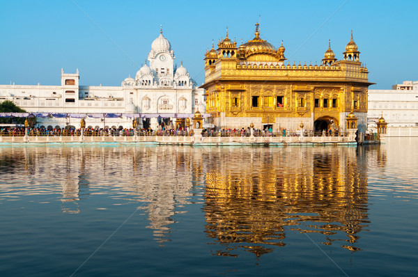 Daytime view of Golden Temple Stock photo © szefei