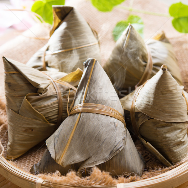 Rice dumpling or zongzi.  Stock photo © szefei