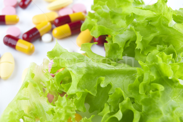 Vegetable and Vitamins Stock photo © szefei