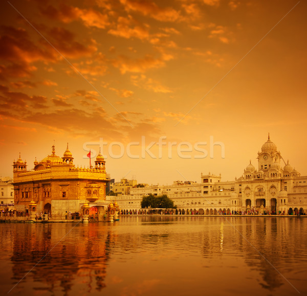 Golden Temple Amritsar Stock photo © szefei