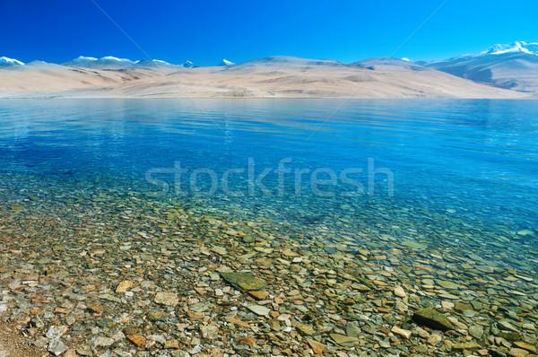 Tso Moriri lake Stock photo © szefei