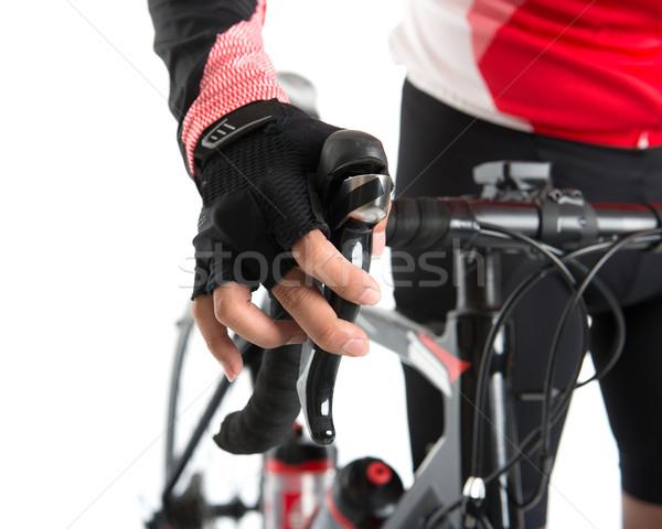 Bike braking Stock photo © szefei