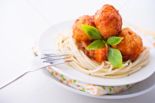 Spaghetti Stock photo © szefei