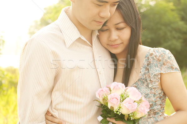 Loving Couple Stock photo © szefei