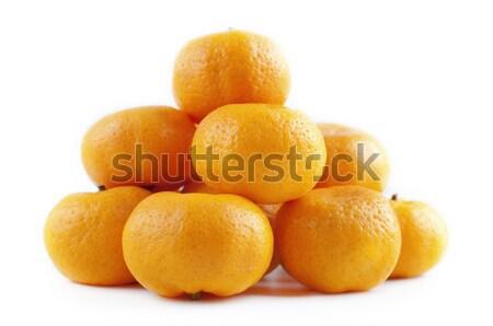 Fresche succosa salute sfondo arancione gruppo Foto d'archivio © szefei