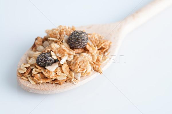 ミューズリー 午前 朝食 食品 ブドウ ストックフォト © szefei