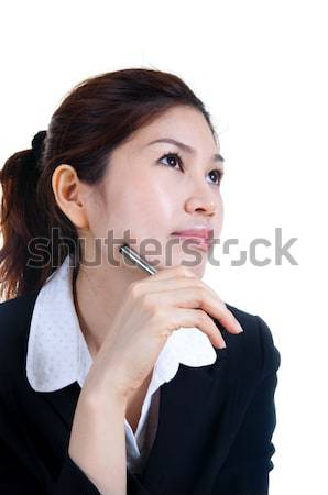 Dreaming at work. Stock photo © szefei