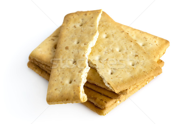 Oat Cracker Stock photo © szefei