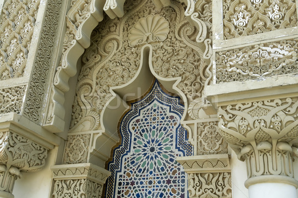 Moroccan Architecture Stock photo © szefei