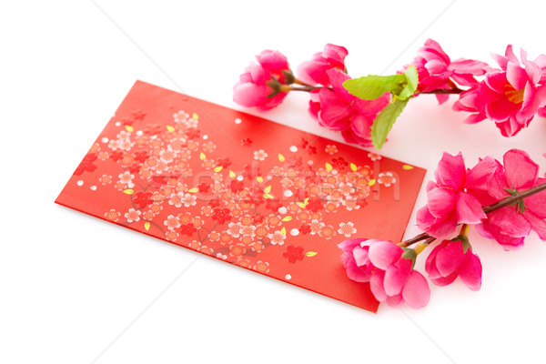 Chinese New Year or Spring Festival objects, isolated. Stock photo © szefei