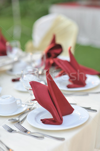 Wedding Reception. Stock photo © szefei
