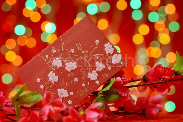 Chinese New Year elements Stock photo © szefei