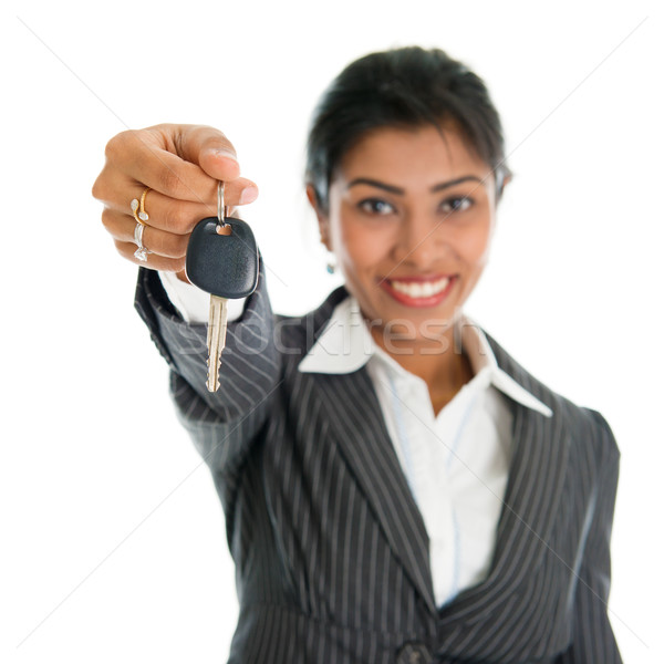 Stock photo: Car dealer