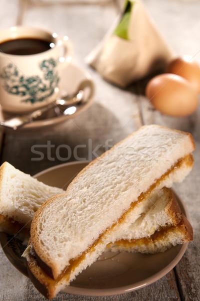 Traditional Malaysian Chinese breakfast Stock photo © szefei