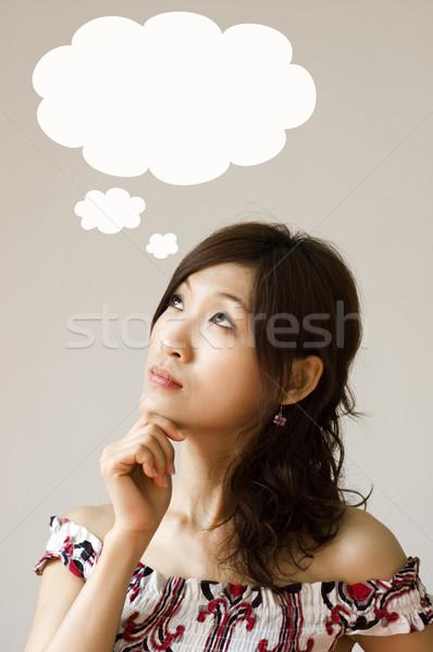 thought  Stock photo © szefei