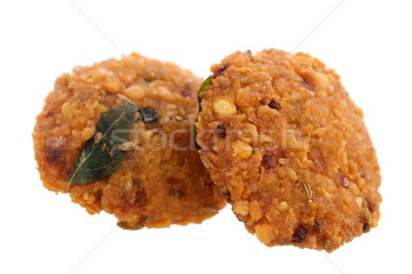Croustillant profonde collations casse-croûte nourriture de rue sous-continent indien Photo stock © szefei