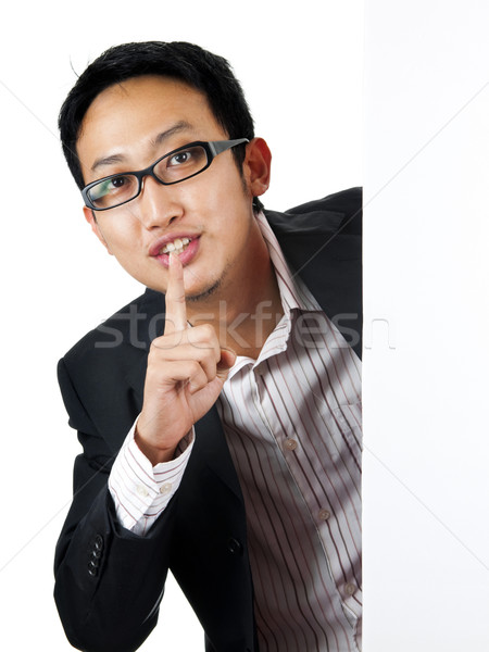 Shhh... Stock photo © szefei