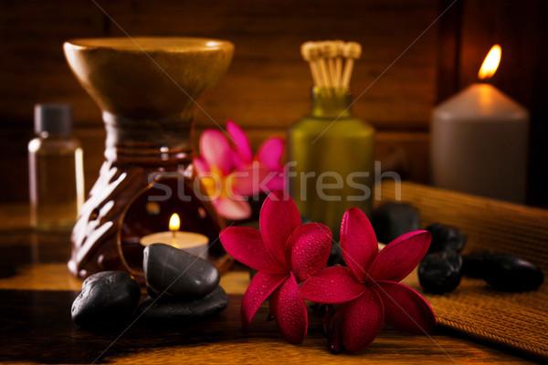 Balinese Spa setting. Stock photo © szefei