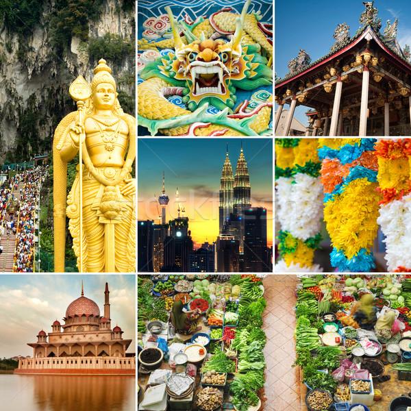 Malaysia attractions  Stock photo © szefei