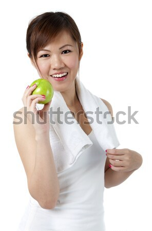 Woman and Fitness Stock photo © szefei