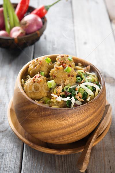 Indonesian food Stock photo © szefei