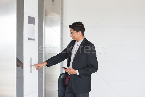 Entering lift Stock photo © szefei