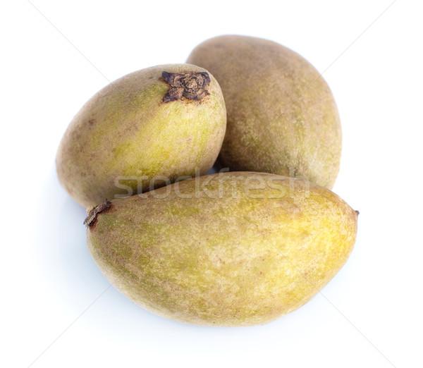 Tropische vruchten geïsoleerd witte voedsel tropische zoete Stockfoto © szefei