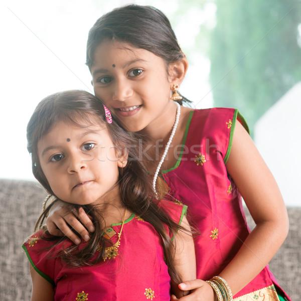 Stock photo: Indian girls