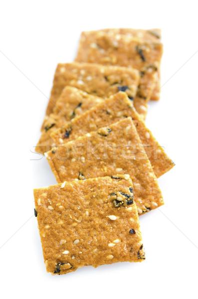 Seaweed Sesame Crisp Stock photo © szefei