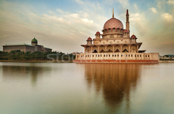 The Putra Mosque Stock photo © szefei