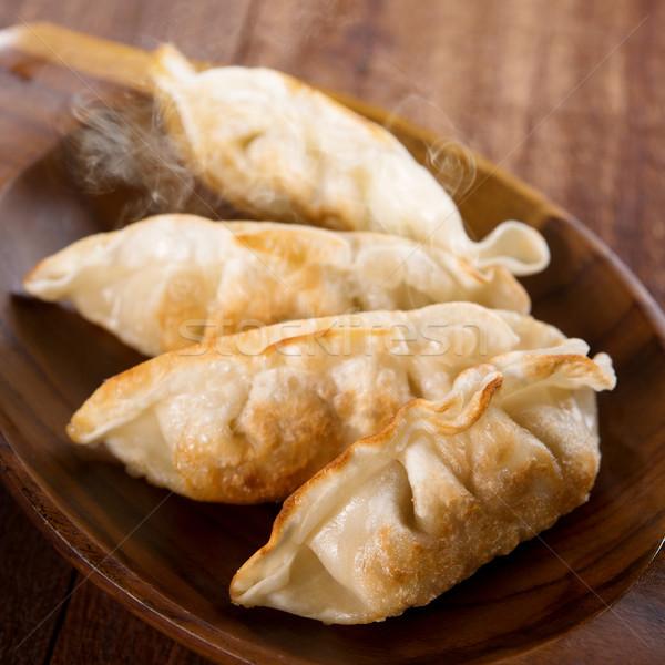 Fried dumplings Stock photo © szefei