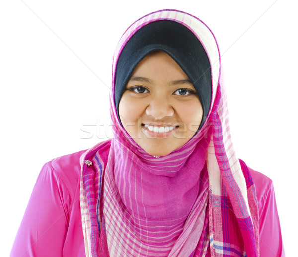 Young Muslim girl Stock photo © szefei