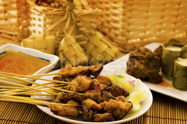 Asian malay Ramadhan foods Stock photo © szefei