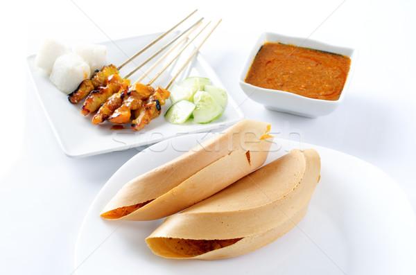 Malay food Apam balik Stock photo © szefei