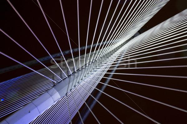 吊り橋 抽象的な 表示 ビジネス 建物 光 ストックフォト © szefei