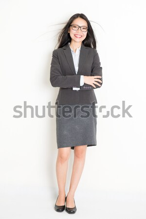 Portrait of Asian business woman  Stock photo © szefei