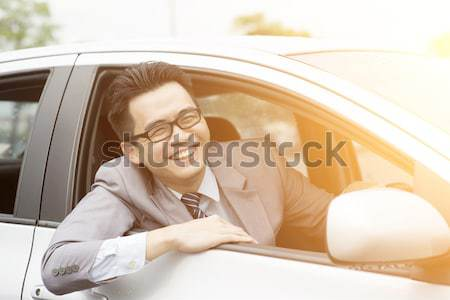 Pissed off driver Stock photo © szefei