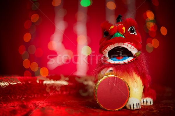 Lunar New Year or Spring Festival decorations Stock photo © szefei