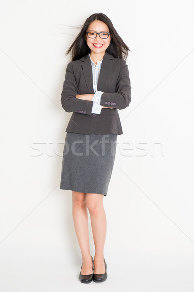 Stock photo: Portrait of female Asian businesspeople