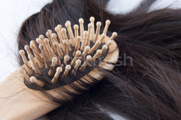 Hairloss. Stock photo © szefei