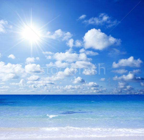 熱帯ビーチ 美しい 日光 水 風景 美 ストックフォト © szefei