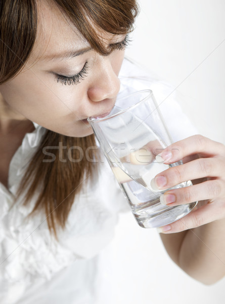 Drinking Water Stock photo © szefei