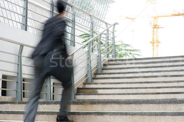Businessman in hurry Stock photo © szefei