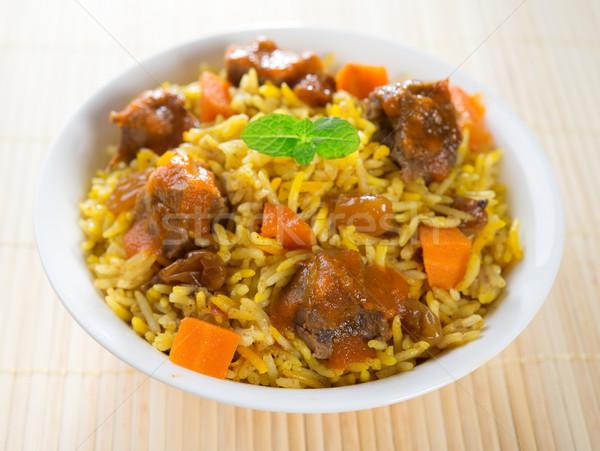 Arab alimentare montone riso cucina Foto d'archivio © szefei