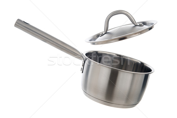 Cooking pot with lid  Stock photo © szefei