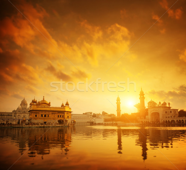Golden Temple Amritsar India Stock photo © szefei